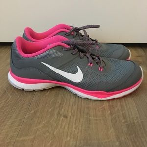 Nike Shoes - Brand new gray and pink Nike shoes